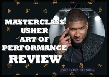 The Art of Performance – An Usher Masterclass Review
