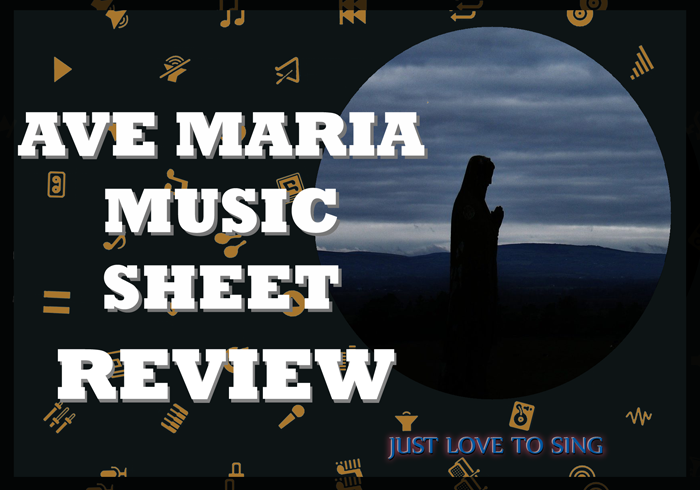 Ave Maria Music Sheet
