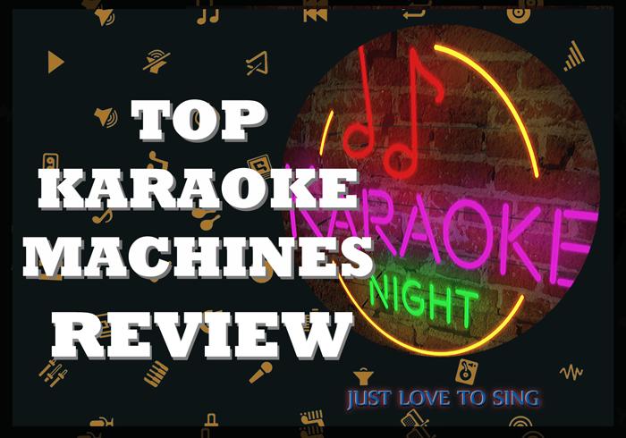 Top Karaoke Machines
