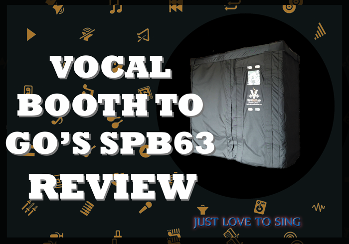 Vocal Booth To Go SPB63