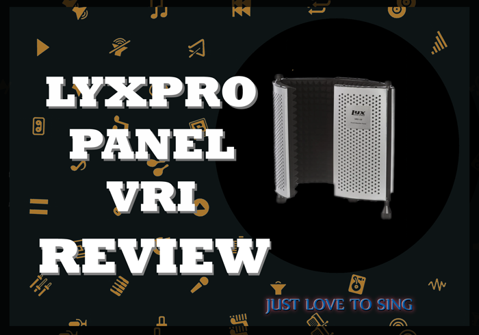 LyxPro Reflection Recording Panel Shield