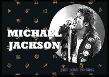 Inspirational Singers: Michael Jackson, The King Of Pop