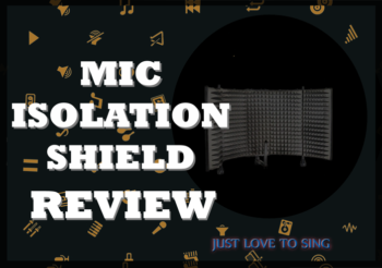 Portable Isolation Booth Review: Monoprice's Microphone Isolation Shield