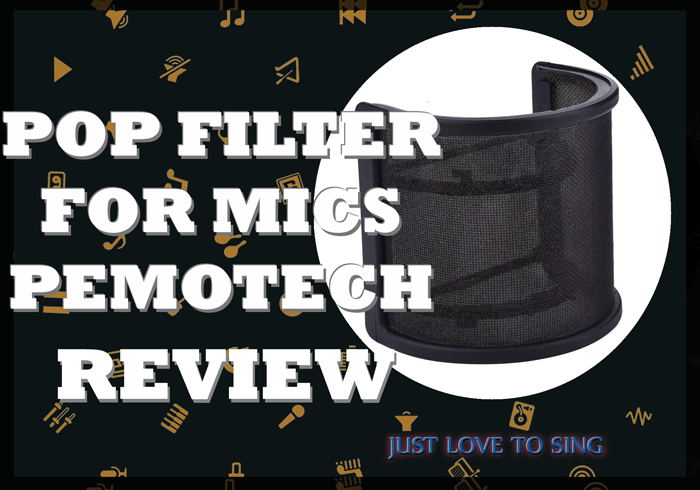 Pop Filter For Mic Pemotech