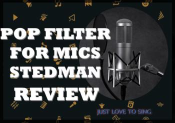 Pop Filter For Mic Review: Stedman Proscreen XL
