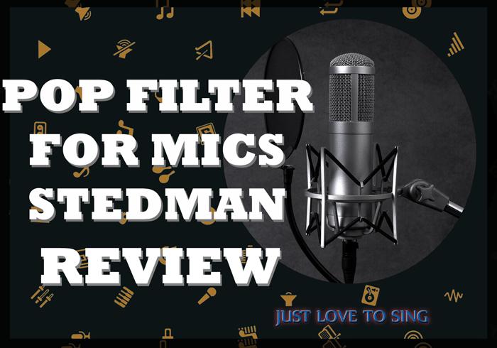 Pop Filter For Mic Stedman