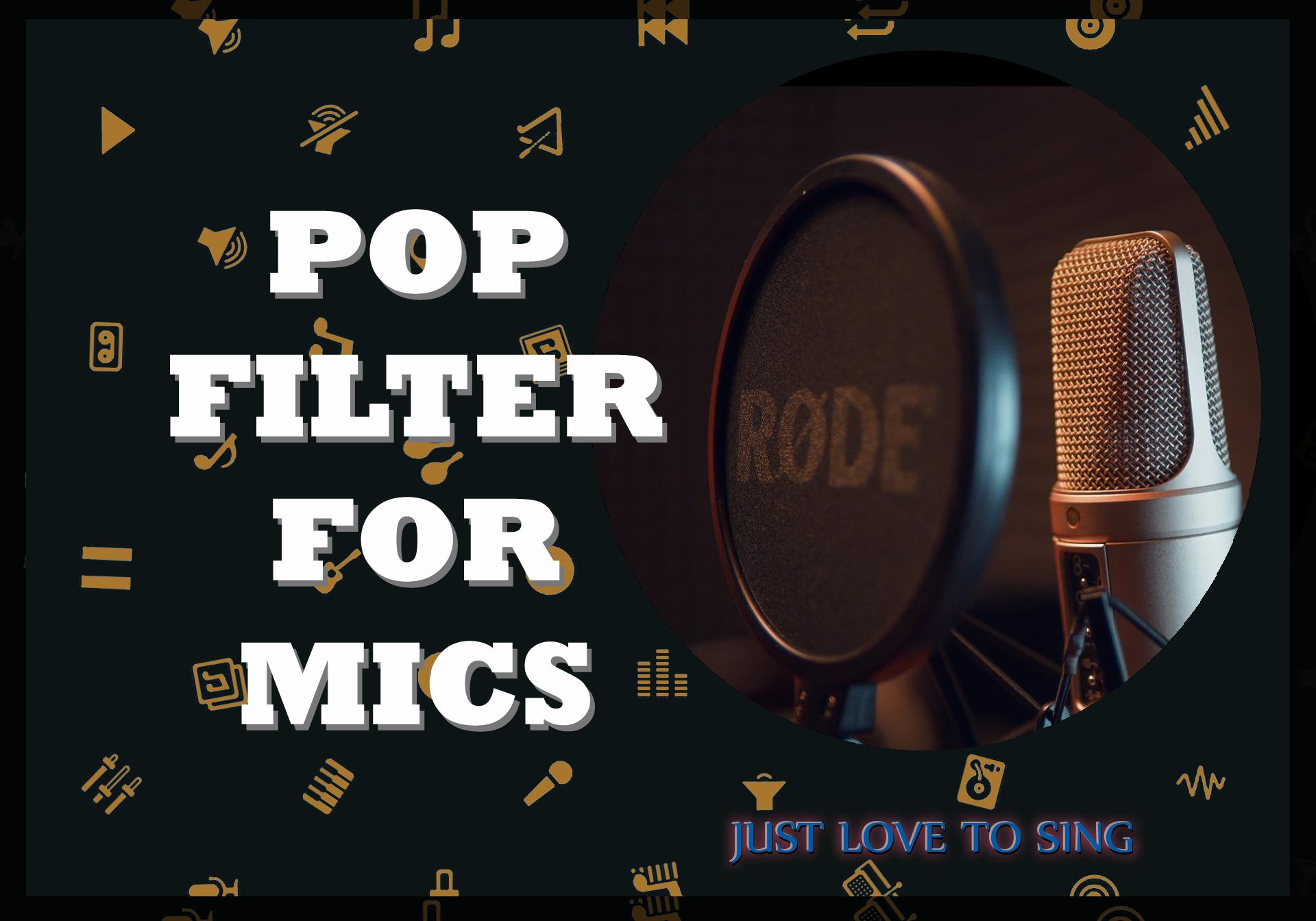 Pop Filter For Mic