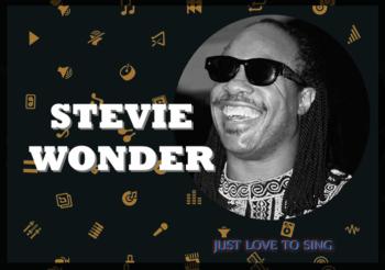Inspirational Singers: Stevie Wonder