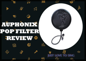 Pop Filter For Mic Review: Auphonix