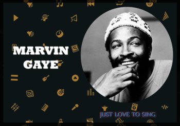Inspirational Singers: Marvin Gaye