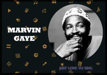 Inspirational Singers: Marvin Gaye